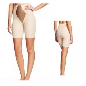 Maidenform Flexees Clean Thigh Tummy Shapewear Med